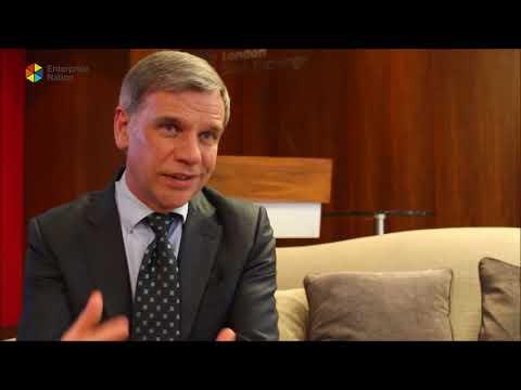 British Business Bank boss Keith Morgan