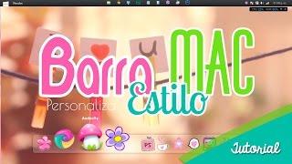 Barra estilo MAC para Windows