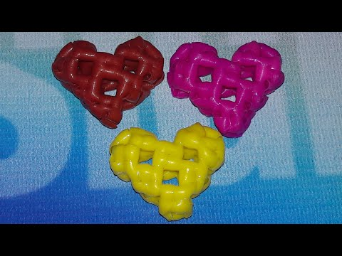 How to make heart shape with wires