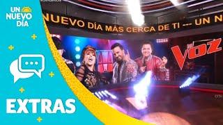 Las audiciones de 'La Voz' empezaron con sorpresas   Un Nuevo Día   Telemundo