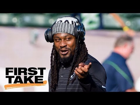 Stephen A. thinks Beast Mode has been too quiet this season | First Take | ESPN