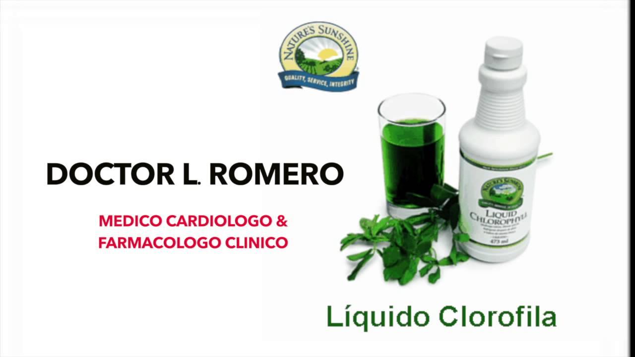 La clorofila liquida adelgazar