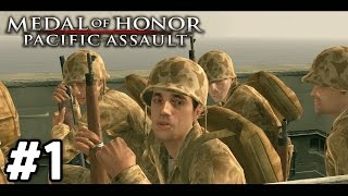 OUR WAR BEGINS | Medal of Honor: Pacific Assault Campaign Walkthrough #1