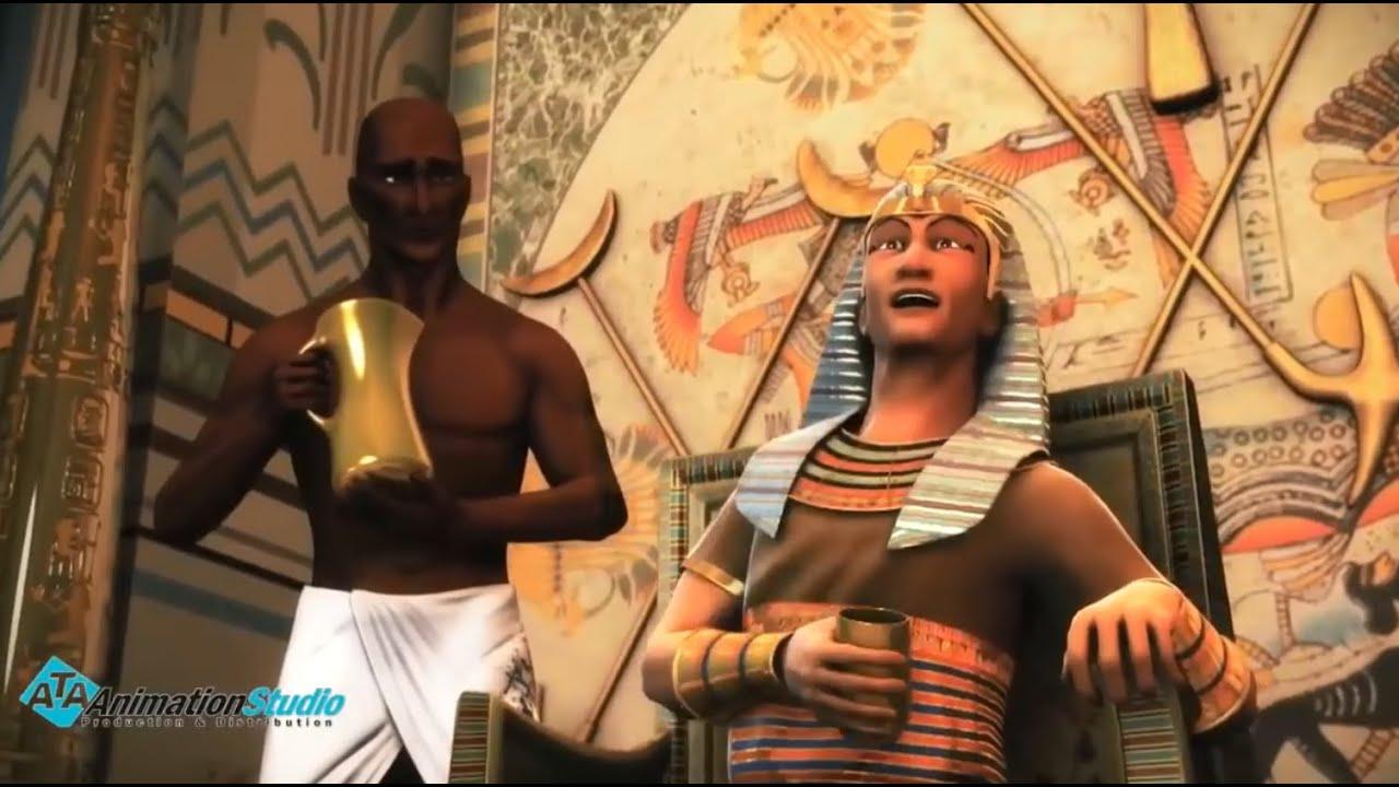 شاهد ما حدث لفرعون و قومه عندما تخيل انه هزم سيدنا موسي