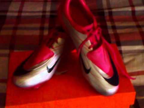 separation shoes bbf6b ef598 Nike Mercurial Vapor Superfly II FG (rosa-plata) 2011 2012 -