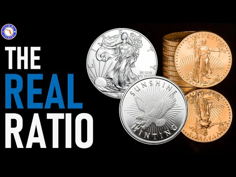 Trading SILVER for GOLD? The Gold to Silver Ratio Explained!