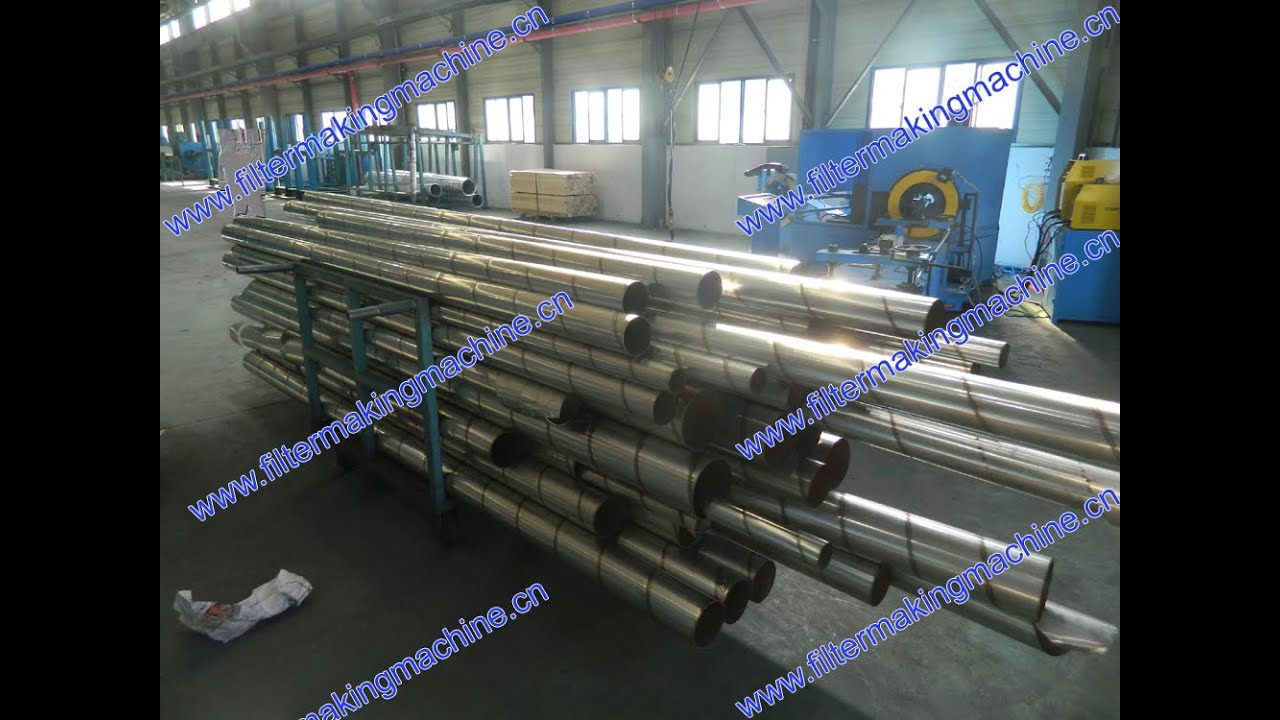 Stainless Steel Duct Weld Machine Youtube