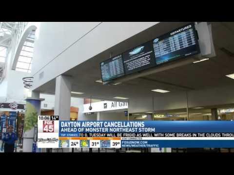 Update: Flights Canceled at Dayton International