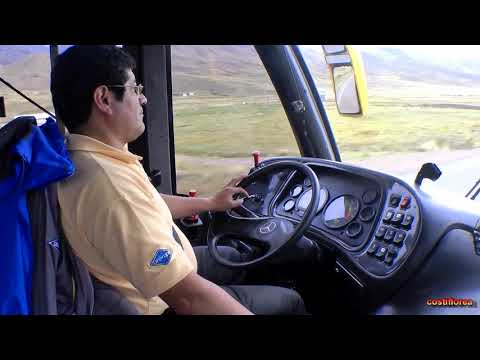 Peru - From Cusco to Puno by bus - La Raya,Pukara,Juliaca-South America,part 60-Travel video HD