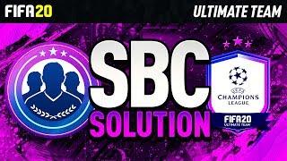 FIFA 20! NEW NO PAIN NO GAIN SBC! SUPER CHEAP AND SIMPLE SOLUTION!