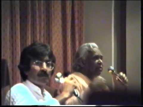 Conferencia de Suami Vishnu Devananda en la C.A. Vigo, traducida por Mádhana  septiembre 1986
