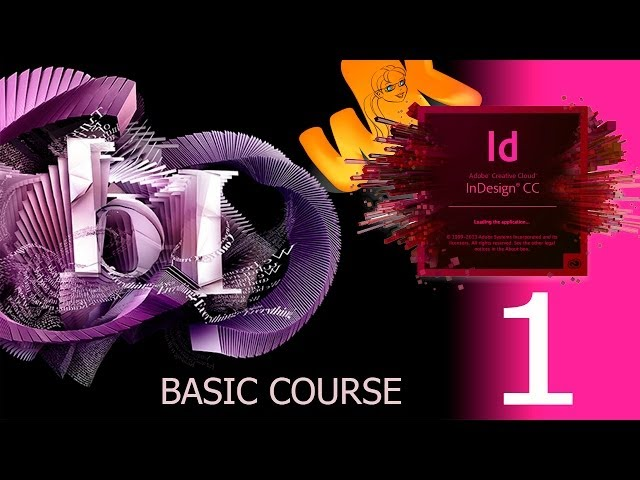 Adobe InDesign Full Basic Course in English