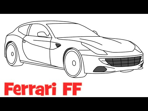 full download how to draw a ferrari for kids ferrari. Cars Review. Best American Auto & Cars Review