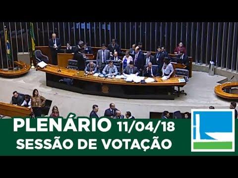 PLENÁRIO - Sessão Deliberativa - 11/04/2018 - 17:52