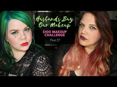 Husbands Buy Our Makeup Challenge Part 2 | Collab with VintageorTacky | Musings of a Fox