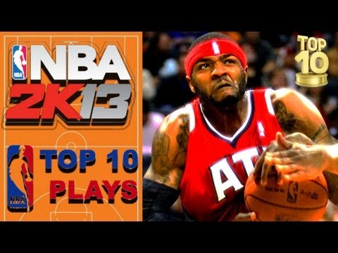 NBA 2K13 OFFICIAL TOP 10 PLAYS of the WEEK vol. 4 starring Josh Smith - 동영상