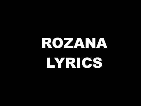 Rozana Song Lyrics.
