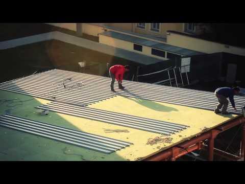 Timelapse video: The IE Paper Pavilion (Shigeru Ban)