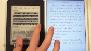 iPad Mini with Retina Display vs Amazon Kindle Paperwhite 2