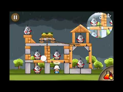 Knights - All Level - Siege Hero Age of Heroes Walkthroughs Gold Crown