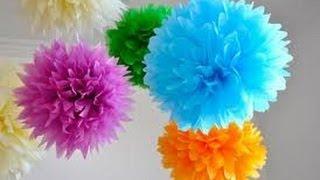 Repeat youtube video Pompom de papel de seda - PAP