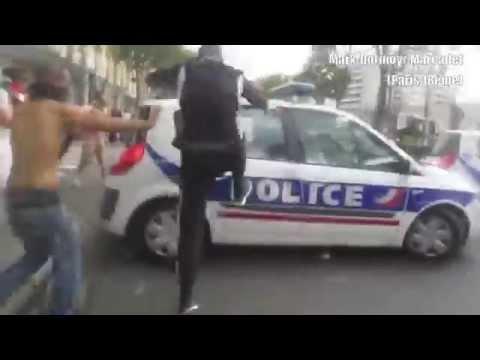 Attack on France Police- ප්රංශ පොලිසියට ප්රහාරයක්