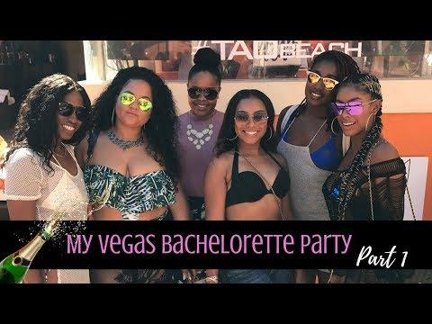 My Las Vegas Bachelorette Party l Part 1| The Journey Continues