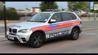 london met police bmw x5 arv on patrol in newport wales