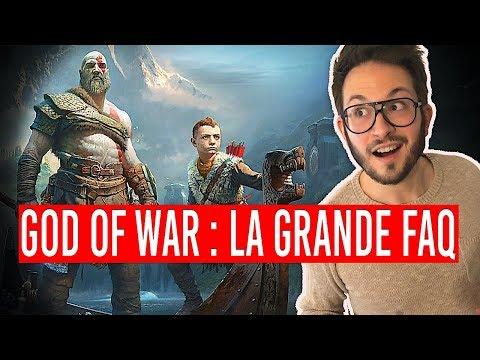 GOD OF WAR, la GRANDE FAQ (sans spoiler !)