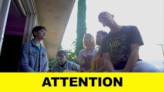 Attention - Charlie Puth Cover x PRETTYMUCH