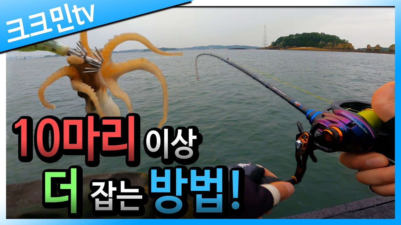 풍랑주의보 떨어진 날 쭈꾸미낚시 수중전!(feat.해물짜장라면)