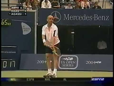 Haas vs Agassi Toronto 2004
