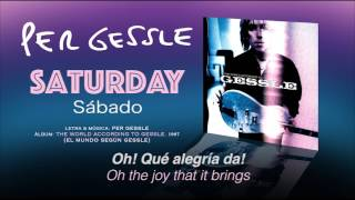 Watch Per Gessle Saturday video