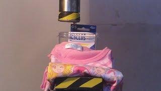 プリキュアTシャツとインクカートリッジ VS 油圧プレス機 /Pretty Cure T-shirt and ink cartridge VS  Hydraulic press machine. thumbnail