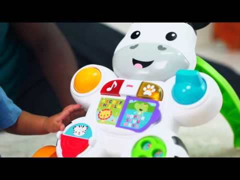 Fisher Price Learn With Me Zebra Walker - YouTube