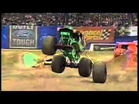 MONSTER TRUCK ACTION IN CINCINNATI