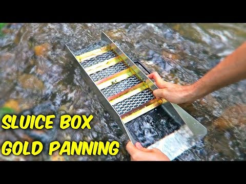 Sluice Box - Gold Panning