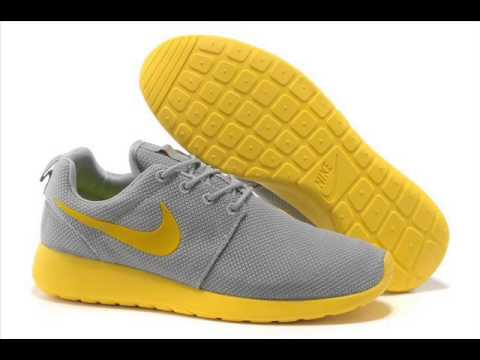 check out fc97e c7009 pas cher en vendrefree Chaussures Femme Nike Roshe Run - YouTube