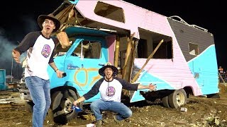 RV DESTROYED in Demolition Derby! *goodbye rv*