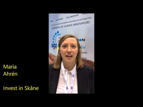 Invest in Skåne - a short overview of The Innovation Pavilion by Sweden at Arab Health 2018