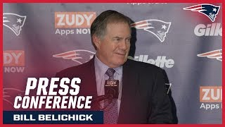 """Bill Belichick: """"Always good to win a division game on the road"""""""