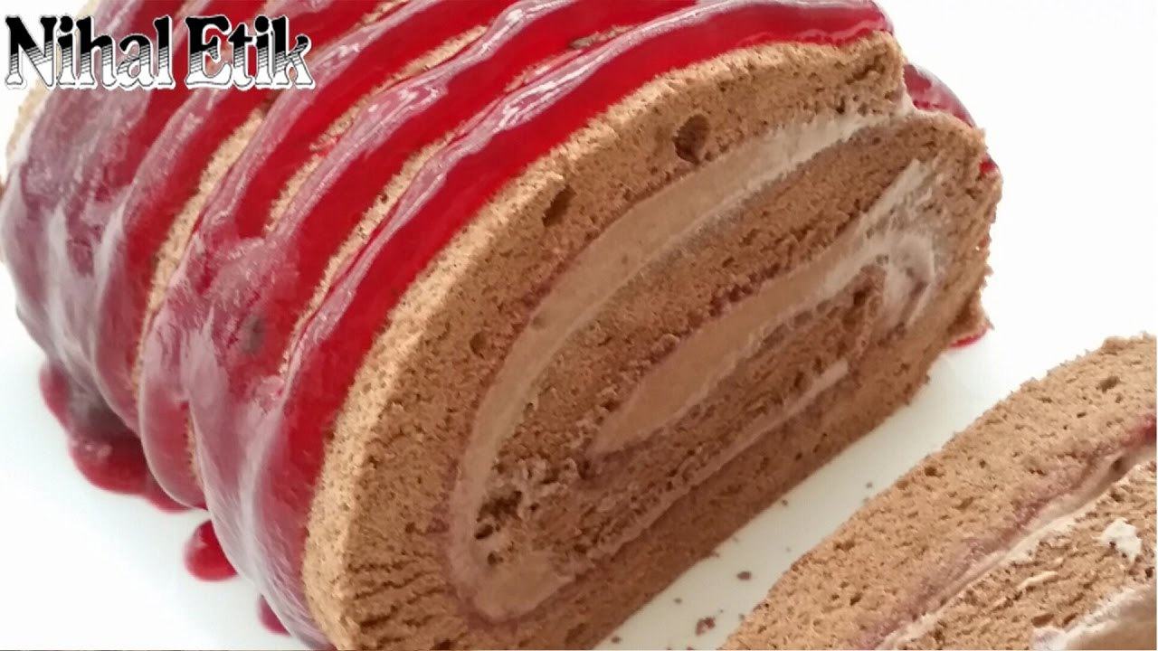 Vişneli Rulo Pasta