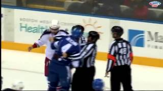 Jake Dotchin vs Mathieu Gagnon Oct 26, 2014
