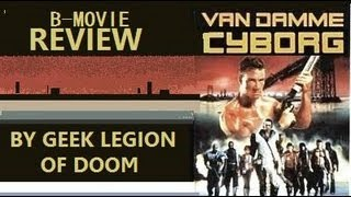 cyborg 1989 jean claude van damme b movie review by geek legion of doom