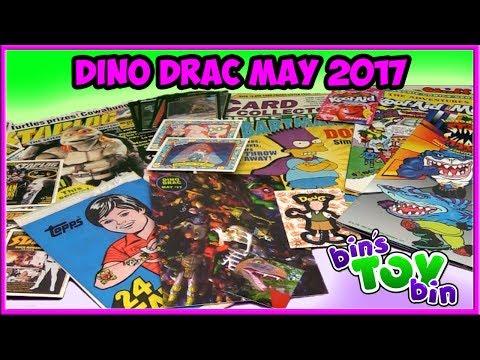 Dinosaur Dracula Fun Pack May 2017 Unboxing! | Bin