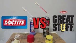 Loctite VS Great Stuff Expanding Foam