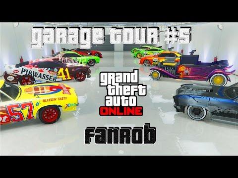 """Garage Tour #5 """"Petit tour dans les garages des Abonnés"""" WTF GTA V Online Xbox One"""