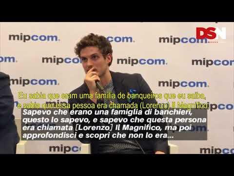 (LEGENDADO) Daniel Sharman fala sobre Medici e Lorenzo Il Magnifico na MIPCOM 2017