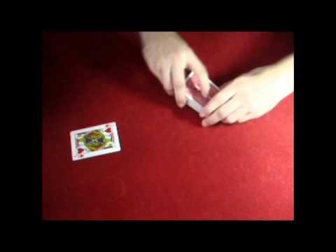 tour de magie carte aimant