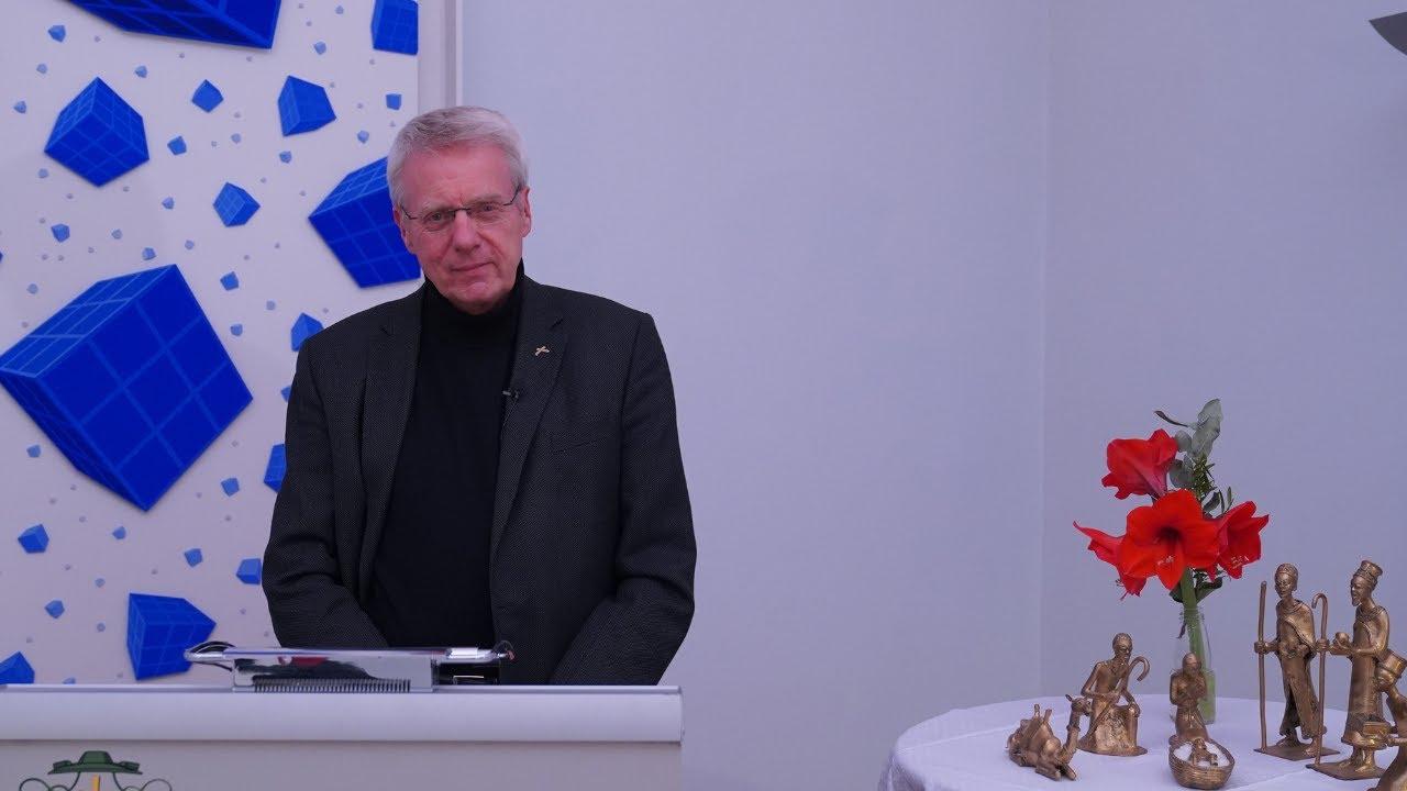 Neujahrsansprache 2021 von Dr. Johannes Warmbrunn, Sprecher des Diözesanrats Rottenburg-Stuttgart